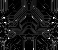 circuit board design, playing with tattoo ideas