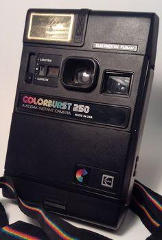 Kodak Color Burst 250 Camera by TroutsAntiques on Etsy, $15.50