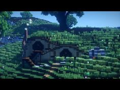 Minecraft Hobbit House! Minecraft Timelapse!! - YouTube