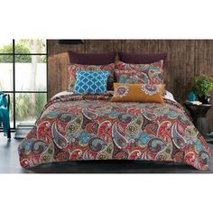 Greenland Home Fashions Nirvana Paisley Cotton 3-piece Quilt Set - Free Shipping On Orders Over $45 - Overstock.com - 16406844