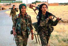 In Iraq Girls fight ISIS
