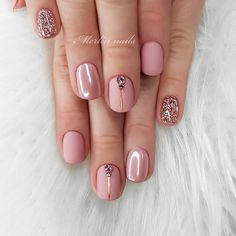 Semi-permanent varnish, false nails, patches: which manicure to choose? - My Nails Fake Gel Nails, Glitter Nails, Gel Nail Art Designs, Gel Nagel Design, Minx Nails, Nagel Gel, Nail Polish Colors, Nail Manicure, Natural Nails