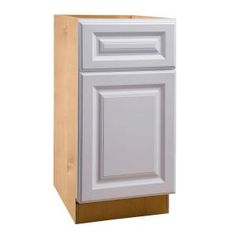 Home Decorators Collection 15x28.5x21 in. Desk Height Base Cabinet with  Single Door in