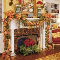 christmas mantle condition