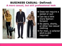 Business Casual Dress Code Defined