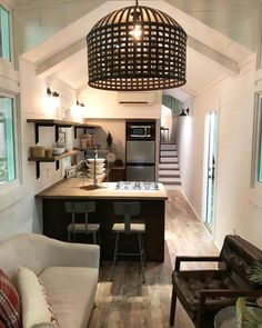 Tiny House Interior - Cindy Lou by Lamon Luther