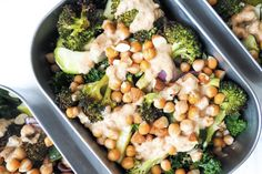 Lunch Box Club is back for the first lunchbox of This recipe is vegan for any one who is taking part in veganuary or simply would like to add more plants Butter Broccoli, Roasting Times, Broccoli Florets, Tray Bakes, Chickpeas, Lunch Box, Meals, Dinners, Healthy Recipes