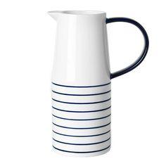 Striped pitcher