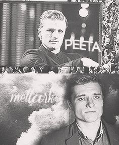 Peeta. Look how grown up he looks. He looks so different. Just another way of how the Games changed them.