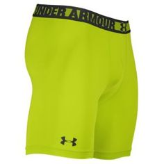 Under Armour Heatgear Sonic Compression Short - Men's - Velocity/Charcoal