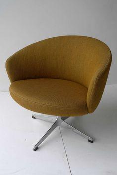 Yngve Ekström; Cast Aluminum 'Rondino' Chair, c1960.