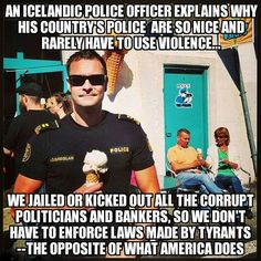 Iceland has a great plan---stand up for USA