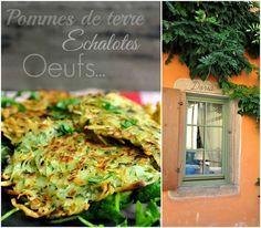 Galettes de pommes de terre façon Alsacienne