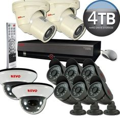 Revo CCTV & Video Surveillance Equipments High Resolution... https://www.amazon.com/dp/B00A45JHVE/ref=cm_sw_r_pi_dp_x_ed.MybDCPMQ9S