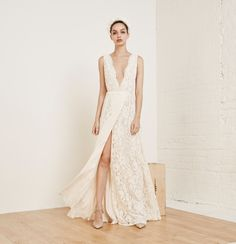 Reformation Spring 2016 Bridal Lookbook Francesca Dress Consuelo | Brides.com