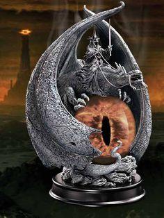Herr der Ringe Statue Die Wut des Hexenkönigs 20 cm - Lord of the rings