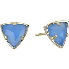 Kendra Scott Parker Earrings ($45) ❤ liked on Polyvore featuring jewelry, earrings, kendra scott, studded jewelry, post earrings, stud earrings and long post earrings