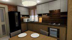 Дизайн кухни нашего дома