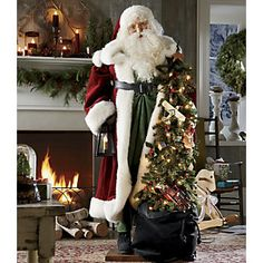 Life-size Father Christmas | www.countrydoor.com http://www.countrydoor.com/Life-size-Father-Christmas.pro?omSource=SLI