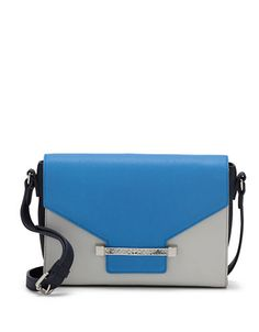 Julia Leather Colorblock Crossbody Bag | Lord and Taylor