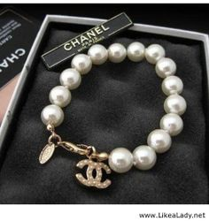 Chanel bracelet  #pearls #jewelry #bracelet