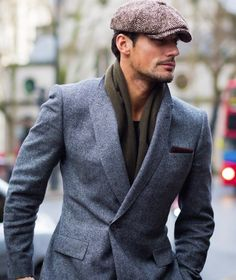 David Gandy before E. Tautz fashion show at Photo by Modern Gentleman, Gentleman Style, Mens Fashion Suits, Fashion Outfits, Well Dressed Men, Men Looks, Mens Clothing Styles, Stylish Men, Hats For Men