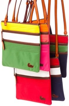 D cross body color block bags