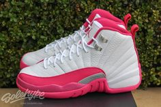 e0a4ae1c6def1d Another look at the upcoming Air Jordan 12 Retro GS Dynamic Pink  (White Dynamic