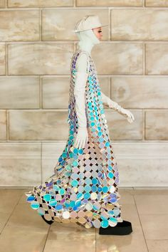 Holographic Dress, Dress Over Pants, Platform Creepers, Costume Institute, Vogue Russia, Vintage Love, Fascinator, Marc Jacobs, Ready To Wear