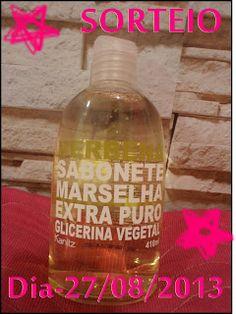 Pinkbelezura: Resultado Sorteio- Sabonete Extra Puro  Marselha41...