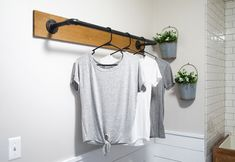 20 DIY Clothes Racks That Are Pretty And Are Easy To Make - Tutorials - Casuable | Everyday blog