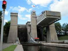 boat trip through the locks in Canada, can check this off the list. Peterborough, Ontario