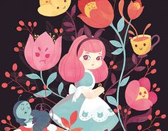 Check out this @Behance project: \u201cMobile Vulgaris - Alice in Wonderland 150th anniversary\u201d https://www.behance.net/gallery/30092963/Mobile-Vulgaris-Alice-in-Wonderland-150th-anniversary