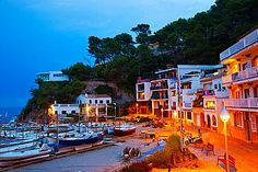 Sa Riera beach - Begur - Baix Emporda, Costa Brava, Girona Province, Catalonia.