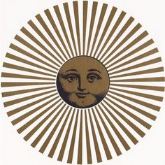 soleil sun sol sole fornasetti Perua4files ❤ liked on Polyvore featuring circle, circular and round