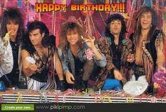 happy birthday Bon Jovi Style