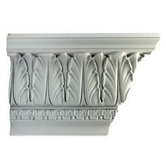 "9-1/4""(H) x 6-1/4""(Proj.) - Classic Style Crown Molding Design - [Plaster Material]"