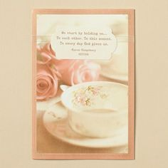 Karen Kingsbury - Encouragement - Holding On - 6 Premium Cards