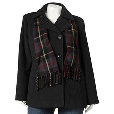 Kohls Plus size pea coat