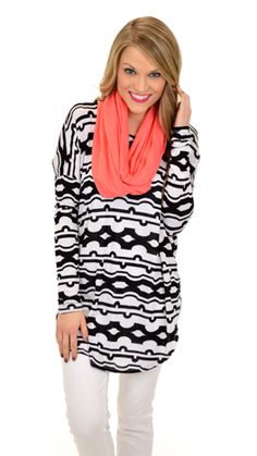 A best selling fit in a new print! $39 at shopbluedoor.com!