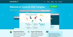 Comercia Portfolio Template Site Templates / Creative by gfunkmedia