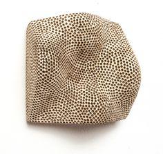 Beppe Kessler, Vale of Tears, 2004, object, balsa wood, 200 x 200 x 90 mm, photo: artist