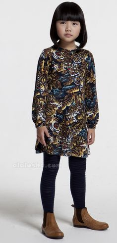 a2e9d49a2296b Oriental inspired kidswear from Kenzo Kids for fall 2014