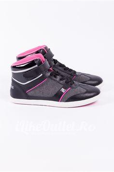 Bascheti negru cu roz  DOROTENNIS