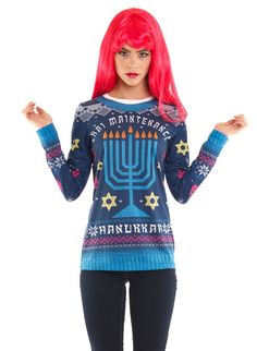 Nordstrom Catches Heat for Chai MaintenanceHannukkah-Themed Sweater