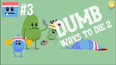 Walkthrough Dumb Ways To Die 2 | The Games: Dumb Dome [PT 1] gameplay no commentary. Fun games for the whole family to enjoy and great kids entertainment. Downloadable on PC and Android devices. Dumb Dome playthrough: javelin catch, shoelace tie, running with scissors, lightning pole volt, electric fence hurdles, dynamite relay race, hammer throw. Do all this without dying horribly. My first try, so lots of epic fails.