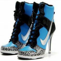 sports shoes 0e5e6 86632 Tiffany Diamond Nike Dunk Heels High Aqua Blue Black, cheap Nike Heels  High, If you want to look Tiffany Diamond Nike Dunk Heels High Aqua Blue  Black, ...