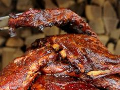 This game day grub is delicious! Check out Dinosaur Bar-B-Que's Dinosaur Ribs recipe here: http://abcn.ws/1d7G5Ck