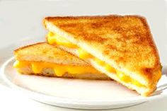 Sometimes a nice, old-fashioned, basic grilled-cheese sammich hits the spot perfectly.