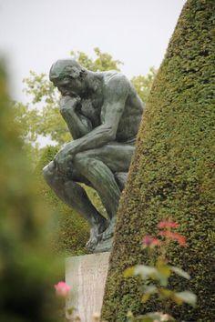 le Penseur de Rodin • Paris